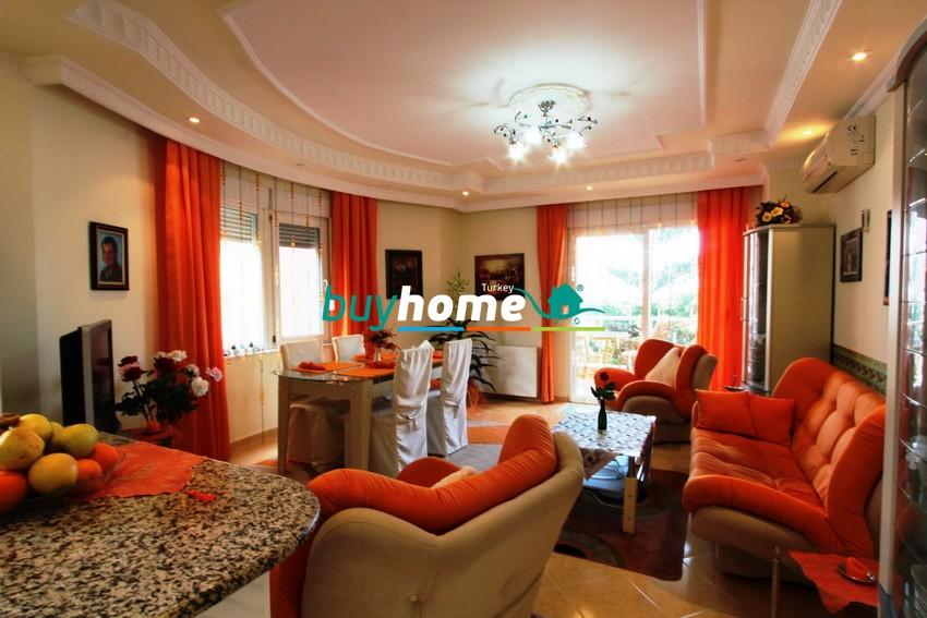 BH FOR SALE FURNISHED 2+1ALANYA-OBA №12B